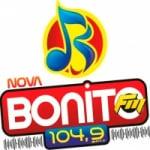 Logo da emissora Rádio Nova Bonito 104.9 FM