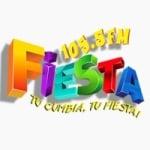 Logo da emissora Radio Fiesta 105.5 FM