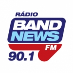 Logo da emissora Rádio BandNews 90.1 FM