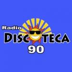 Logo da emissora Radio Discoteca 90
