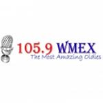 Logo da emissora WMEX 105.9 FM