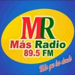 Logo da emissora Más Radio 89.5 FM