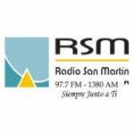 Logo da emissora Radio San Martín 97.7 FM