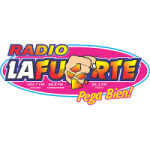 Logo da emissora Radio La Fuerte 104.7 FM