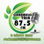 Logo da emissora Rádio Carmelotaia 87.5 FM