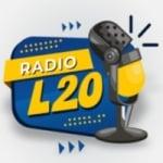 Logo da emissora Rádio L 20