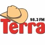 Logo da emissora Rádio Terra 98.3 FM