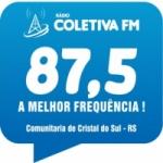 Logo da emissora Rádio Coletiva 87.5 FM