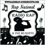 Logo da emissora Rádio Rap a Voz Do Gueto