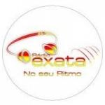 Logo da emissora Rádio Exata