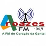 Logo da emissora Rádio Aroazes 104.9 FM