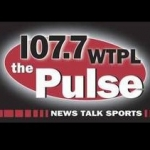 Logo da emissora WTPL The Pulse 107.7 FM