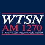 Logo da emissora WTSN 1270 AM