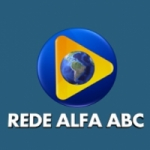 Logo da emissora Rede Alfa ABC