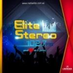 Logo da emissora Radio Elite 102.7 FM