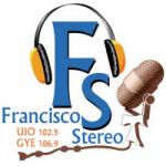 Logo da emissora Radio Francisco Stereo 102.5 FM