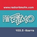 Logo da emissora Radio Ritmo 103.5 FM