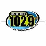 Logo da emissora Radio Util 102.9 FM 1450 AM