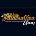 Logo da emissora Rede Palavra Viva e Eficaz