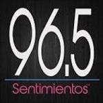 Logo da emissora Radio Sentimientos 96.5 FM