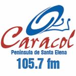 Logo da emissora Radio Caracol 105.7 FM