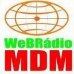 Logo da emissora Web Rádio Meio do Mundo