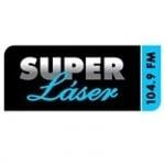 Logo da emissora Radio Super Láser 104.9 FM
