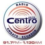 Logo da emissora Radio Centro 91.7 FM 1130 AM
