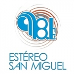 Logo da emissora Radio Estéreo San Miguel 98.1 FM