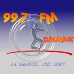 Logo da emissora Radio Dinamik 99.7 FM