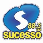 Logo da emissora Rádio Sucesso 88.3 FM
