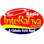 Logo da emissora Rádio Interativa Popular FM