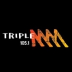 Logo da emissora Radio Triple M 105.1 FM