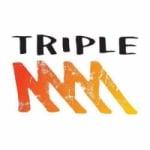 Logo da emissora Radio Triple M 104.9 FM