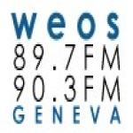 Logo da emissora WEOS 89.7 FM