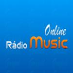 Logo da emissora Rádio Music Online