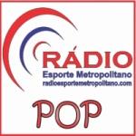 Logo da emissora Esporte Metropolitano POP