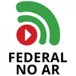 Logo da emissora Rádio e TV Federal no Ar - Instituto Federal