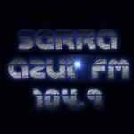 Logo da emissora Rádio Serra Azul 104.9 FM
