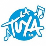 Logo da emissora Radio La Tuya 104.5 FM