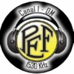 Logo da emissora Rádio PEF 1530 AM