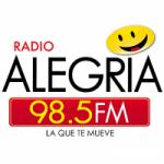 Logo da emissora Radio Alegria 98.5 FM