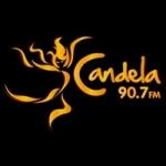 Logo da emissora Radio Candela 90.7 FM