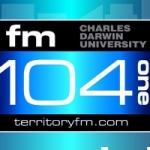 Logo da emissora Radio Territory 104.1 FM