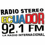Logo da emissora Radio Stereo Ecuador 92.1 FM
