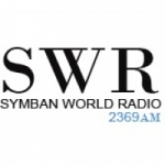 Logo da emissora Radio Symban 93.3 FM