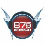 Logo da emissora Rádio Energia 87.9 FM