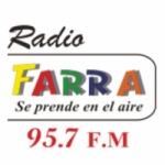 Logo da emissora Radio Farra 95.7 FM