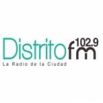 Logo da emissora Radio Distrito 102.9 FM