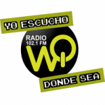 Logo da emissora WQ Radio 102.1 FM